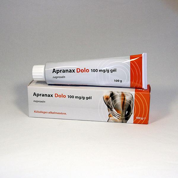 Apranax Dolo 100 mg/g gél