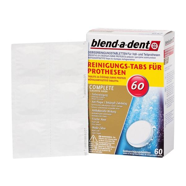 Blend-a-dent Complete műfogsortisztító tabletta