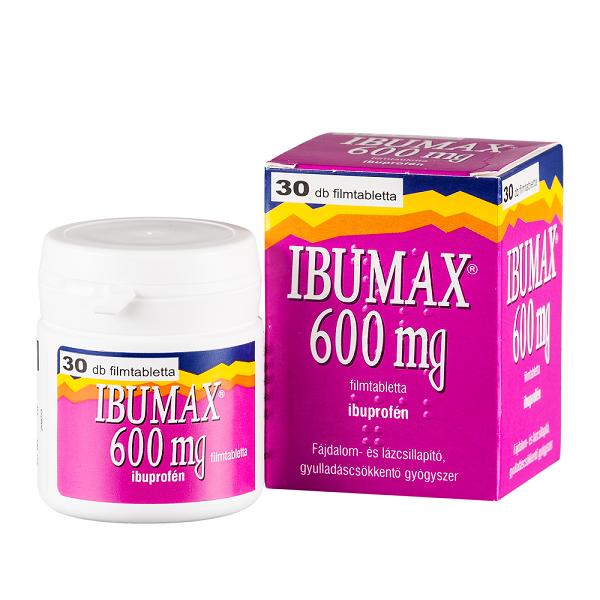 Ibumax 600 mg filmtabletta