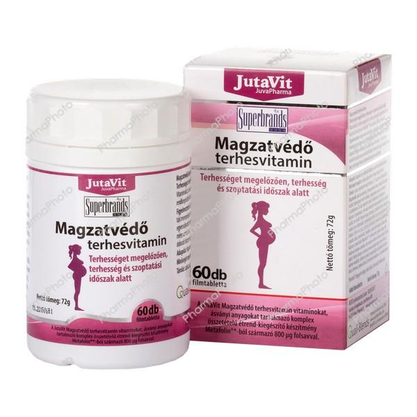 Jutavit Magzatvedo terhesvitamin filmtabletta 60x193397 2017 tn