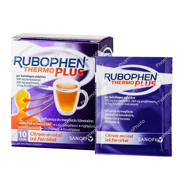 Rubophen ThermoPlus por belsőleges oldathoz