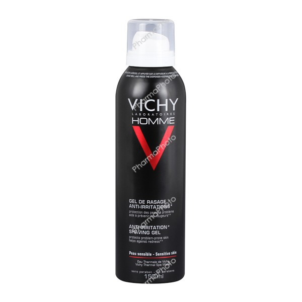 Vichy Homme borotvagél érzékeny bőrre