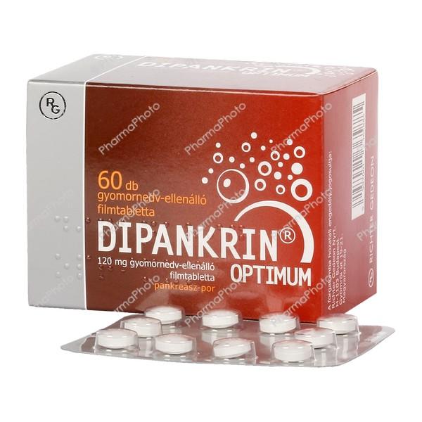 Dipankrin Optimum 120 mg gyomornedv ellenallo tabl 60x574614 2017 tn