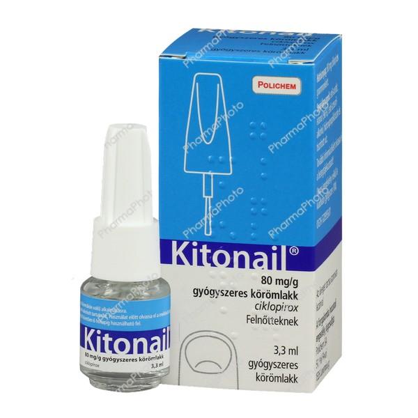 Kitonail 80mg g gyogyszeres koromlakk 33ml860422 2016 tn
